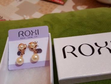 Orecchini Roxi con Perle