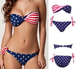 Costume Bandiera Americana