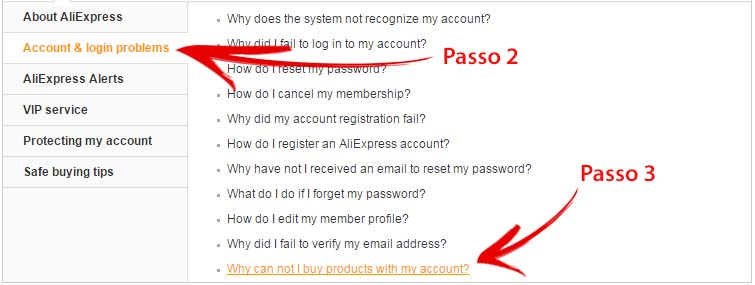 Account Disabilitato Aliexpress - Contattare Assistenza 2-3