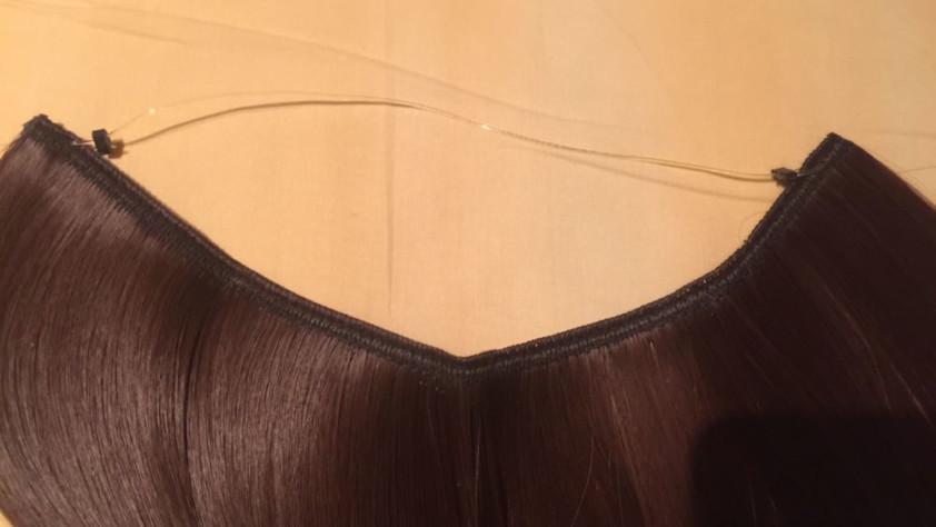 extension capelli con filo