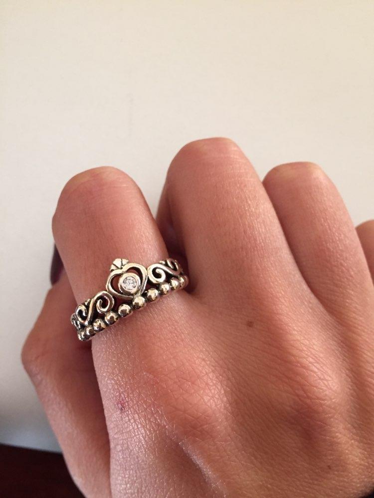 anello tiara pandora