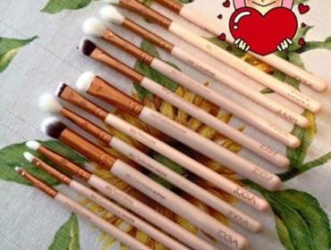 Zoeva Brush Set Occhi Rosa